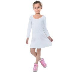 Kids  Long Sleeve Velvet Dress Icon