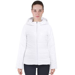 Women s Hooded Puffer Jacket Icon