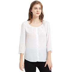 Chiffon Quarter Sleeve Blouse Icon