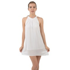 Halter Tie Back Chiffon Dress Icon