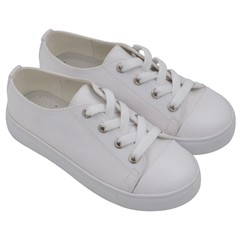 Kids  Low Top Canvas Sneakers Icon