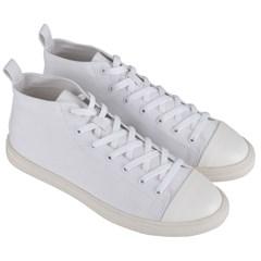 Men s Mid-Top Canvas Sneakers Icon