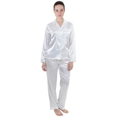 Satin Long Sleeve Pyjamas Set Icon