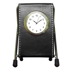 Pen Holder Desk Clock Icon