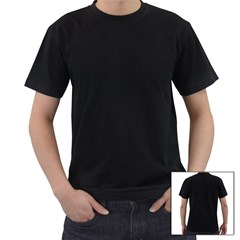 Men s T-Shirt (Black) (Two Sided) Icon