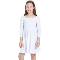 Kids  Quarter Sleeve Skater Dress Icon