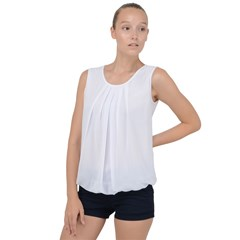Bubble Hem Chiffon Tank Top Icon