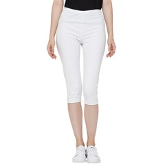 Inside Out Lightweight Velour Capri Leggings  Icon