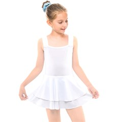 Kids  Layered Skirt Swimsuit Icon