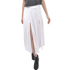 Velour Split Maxi Skirt Icon
