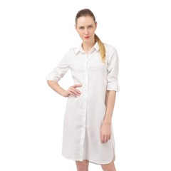 Long Sleeve Mini Shirt Dress Icon