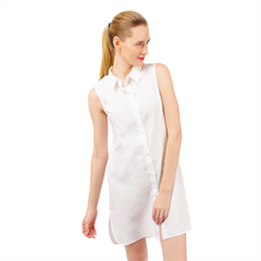 Sleeveless Shirt Dress Icon