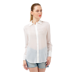 Long Sleeve Chiffon Shirt Icon