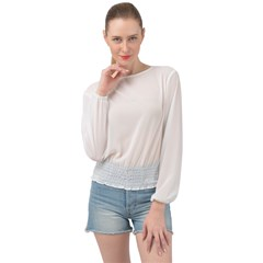Banded Bottom Chiffon Top Icon
