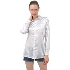 Long Sleeve Satin Shirt Icon