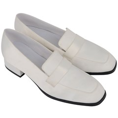 Women s Chunky Heel Loafers Icon