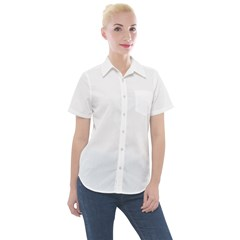 Women s Short Sleeve Pocket Shirt Icon