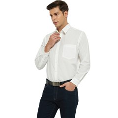 Men s Long Sleeve Pocket Shirt  Icon