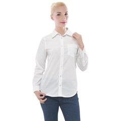 Women s Long Sleeve Pocket Shirt Icon
