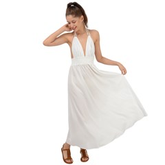 Backless Maxi Beach Dress Icon