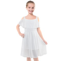 Kids  Cut Out Shoulders Chiffon Dress Icon