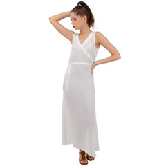 V-Neck Chiffon Maxi Dress Icon