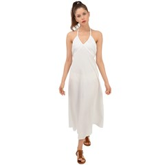 Halter Tie Back Dress  Icon