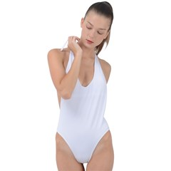 Backless Halter One Piece Swimsuit Icon