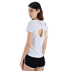 Back Cut Out Sport Tee Icon