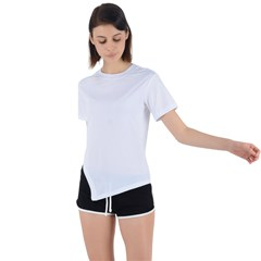 Asymmetrical Short Sleeve Sports Tee Icon
