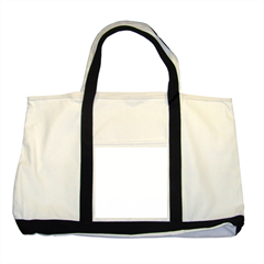 Two Tone Tote Bag Icon
