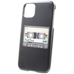 iPhone 11 Black UV Print Case Icon