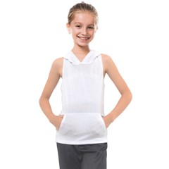 Kids  Sleeveless Hoodie Icon