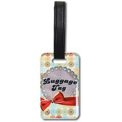 Luggage Tag (one side) Icon
