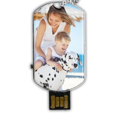 Dog Tag USB Flash (One Side) Icon
