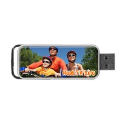 Portable USB Flash (One Side) Icon