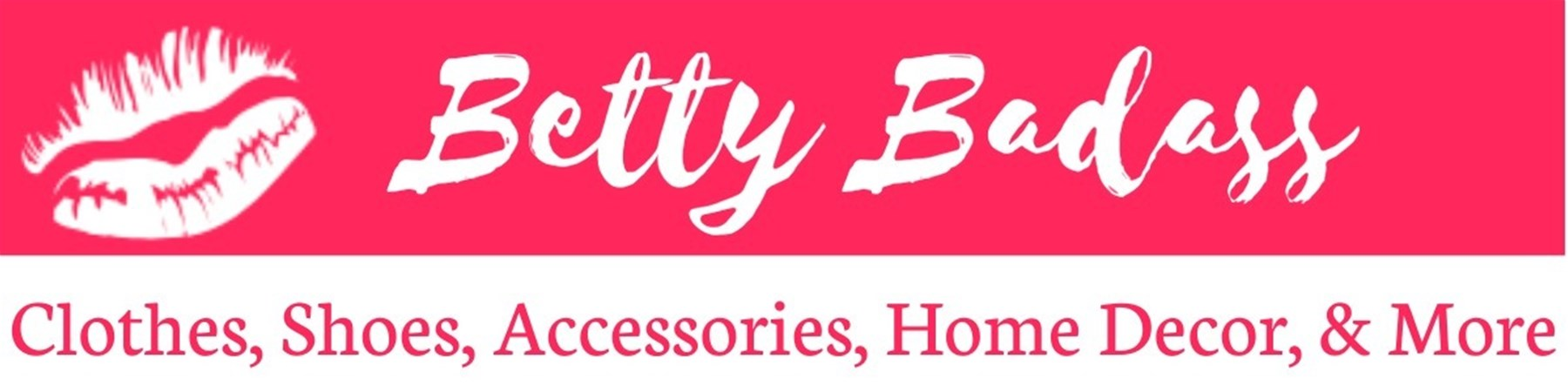 Betty Badass Clothes Banner