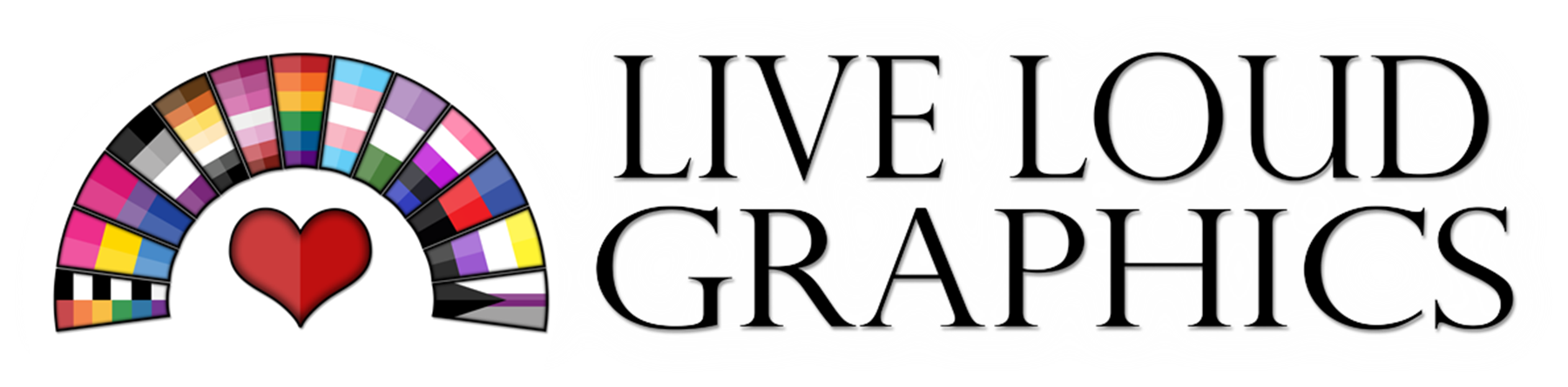 Live Loud Graphics Banner