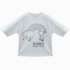 Dream Come True - Rainbow Baby T-shirt by uTees