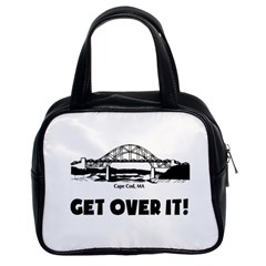 Get Over It Twin-sided Satched Handbag