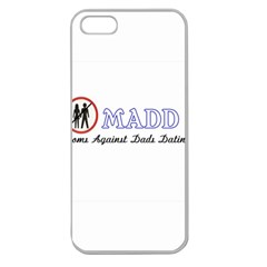 Madd Apple Seamless Iphone 5 Case (clear) by OrbTees