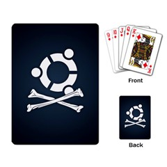 Ubuntu Bone Standard Playing Cards by CreateYourOwnGift