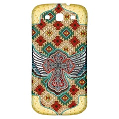 South West Leather Look Samsung Galaxy S3 S Iii Classic Hardshell Back Case by artattack4all