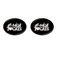 Catz Oval Cuff Links by artattack4all