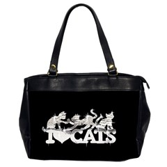 Catz Twin Sided Oversized Handbag by artattack4all