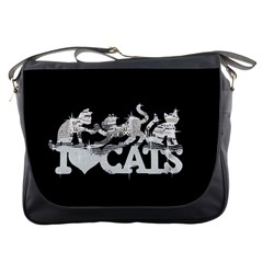Catz Messenger Bag by artattack4all