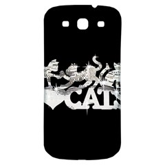 Catz Samsung Galaxy S3 S Iii Classic Hardshell Back Case by artattack4all
