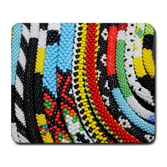 Multi Colored Beaded Background Large Mouse Pad (rectangle) by artattack4all