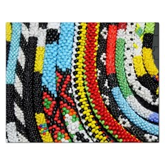 Multi Colored Beaded Background Jigsaw Puzzle (rectangle) by artattack4all