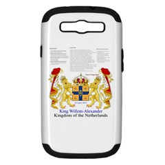 King Willem Samsung Galaxy S Iii Hardshell Case (pc+silicone) by artattack4all